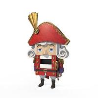 nutcracker character 3D model