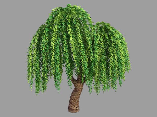 3D model 100 acres forest -