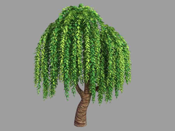 100 acres forest - 3D model