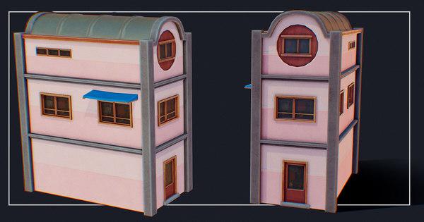 3D house color g model