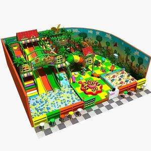 amusement park 16 3D model