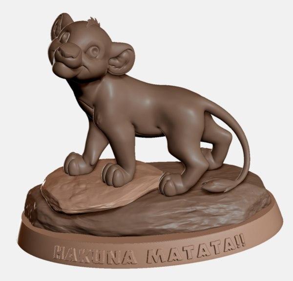 lion king simba 3D