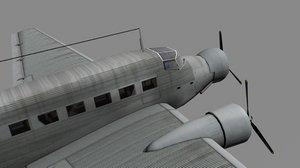 junkers ju-52 3D model