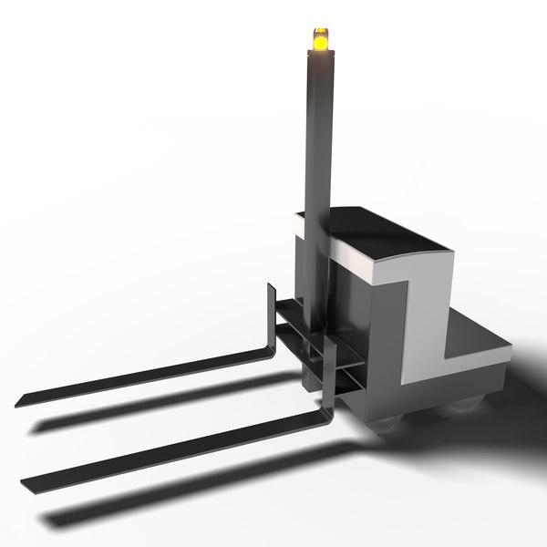 3D autonomous forklift
