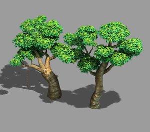 3D acre trees - 03 model