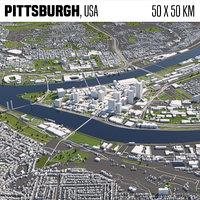Pittsburgh 50x50km