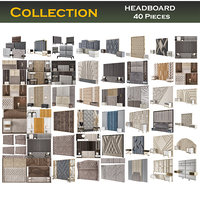 furniture headboard interior model