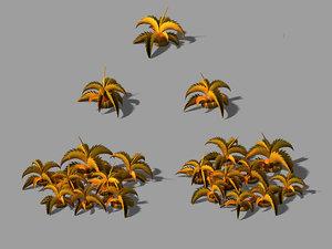 3D city - barbed bush model