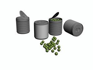green bean 3D