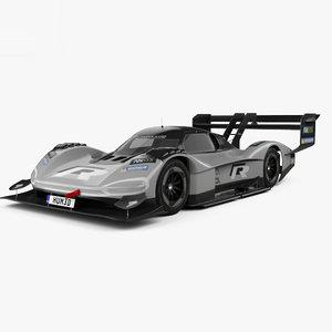 volkswagen r d 3D model