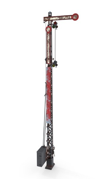 railway semaphore model
