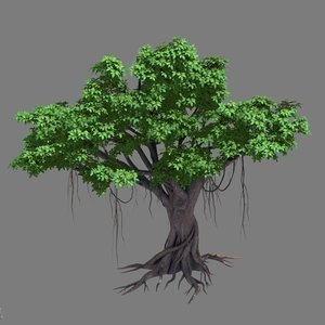 3D large plant - rongshu