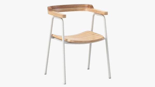principal chair gusmodern 3D model