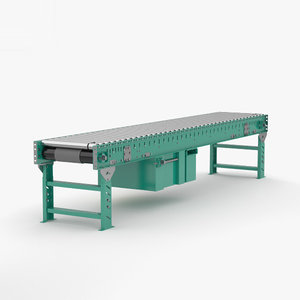 3D roller conveyor model