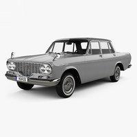 3D toyota crown 1962 model