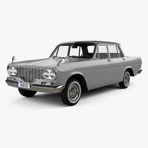 3D toyota crown 1962 model