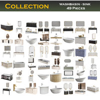 washbasin - sink Collection 49 Pieces