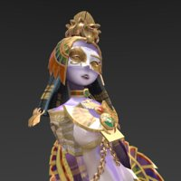 egyptian egypt creature 3D
