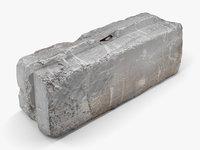 Concrete Block - 8K Scan