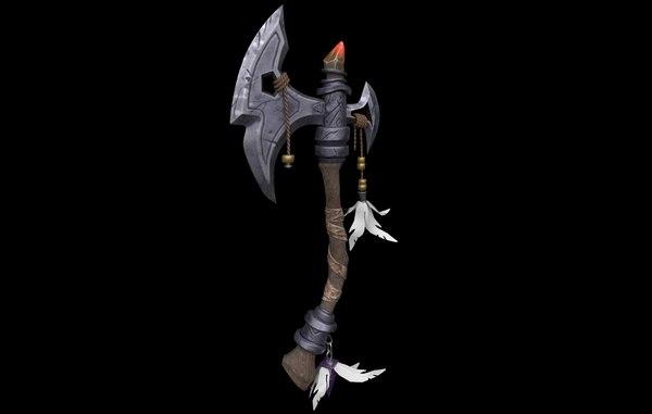 3D fantasy axe games