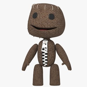 sackboy character 3D model