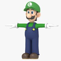 Luigi Character from Super Mario Bros