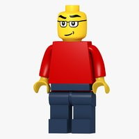 lego character 3D