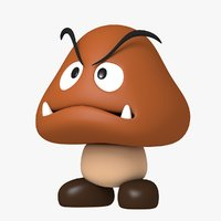 Goomba Character From Super Mario