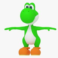 Yoshi character from Super Mario