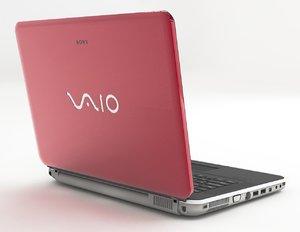 3D sony vaio laptop