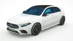 mercedes-benz a-class 2020 3D