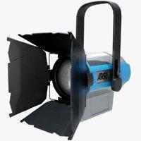 3D model arri l5-c led fresnel