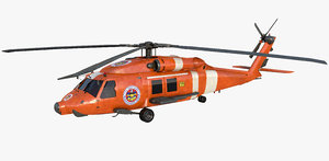 3D helicopter rescue model