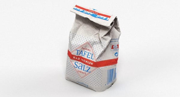 scan bag salt 3D model