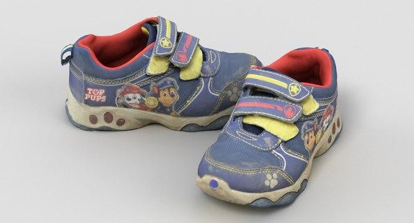 scan kids shoes model