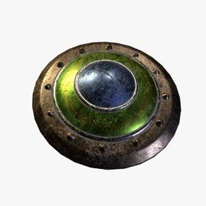 3D blocking shield