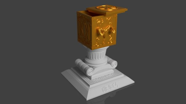 3D aries pandora s box