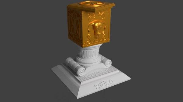 pandora s box printing 3D model