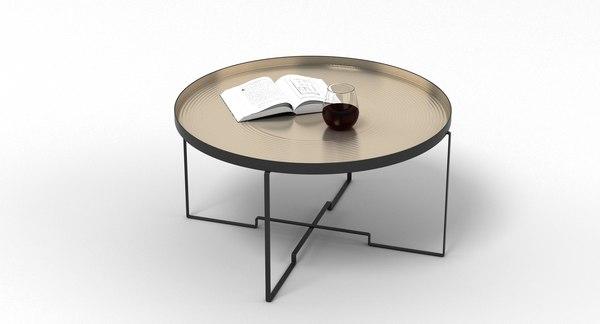 3D sidetable table model