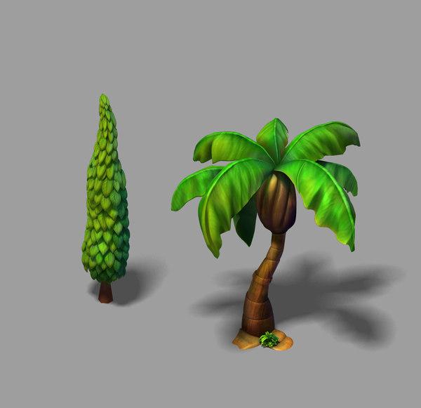 main city - tree 3D