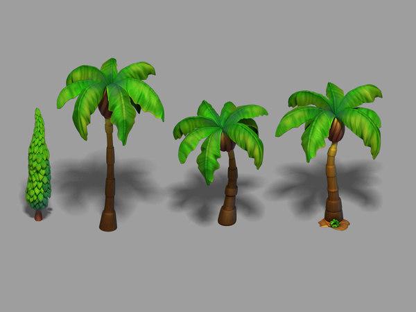 main city - tree 3D model