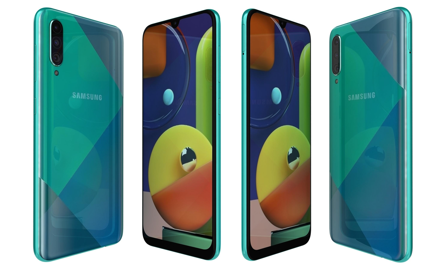 samsung galaxy a50s prism 3D model