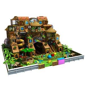 amusement park 18 3D model