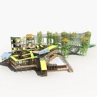 3D amusement park 19 model