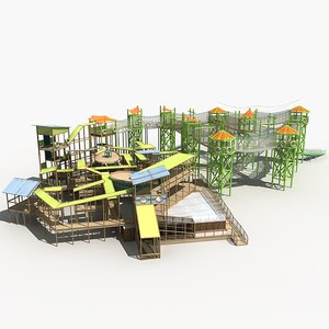3D amusement park 19 model