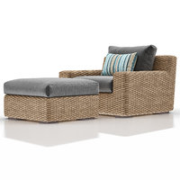 cayman outdoor lounge ottoman model