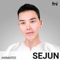 3D model rigged male korean -
