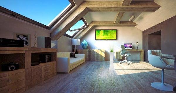 3D plant house model