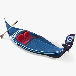 ready cartoon gondola 3D model