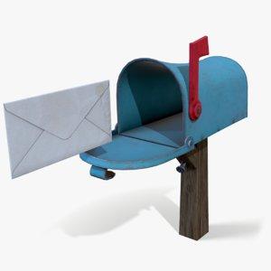 ready mailbox 3D model